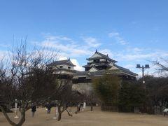 2日目 松山城 伊予松山城は現存する12天守の一つで国の重要文化財に指定された城で2009年度版ミシュランガイド日本版で2つ星に指定されたこともあります。