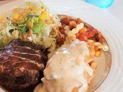 まずはレンタカーで、宮崎と言えばチキン南蛮。美味しいレストランへGo。 ハンバーグもふわふわジューシーでした。  ・赤ずきんスペシャルセット 1,530円