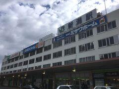 新潟駅に到着。  ちょっとここで時間があるので、最近できたBRTに乗ってみました。