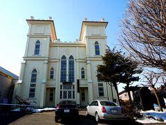1257 日本基督教団弘前教会 今日は集会を行っているので入れなかった