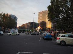 ハイデルベルク中央駅前に到着。