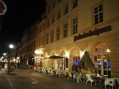ハウプト通りを戻り、こちらのレストランで夕食。