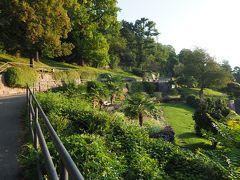 哲学者の道。 何やら整備された公園のようなところがありました。