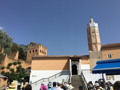 グランド・モスクのお隣はカスバ博物館