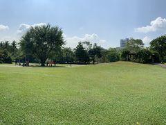 なんでも敷地の広さは東京ドーム13個分……と言われてもピンと来ませんが、とにかく広いことはわかりますー。芝生のあちこちで、地元の人たちがピクニックをしていますねー('ヮ' ) 暑いけど、楽しそう! Pottyもシンガポールに住んでいたら毎週来ちゃいそうですー。あ、入園料は基本無料ですー。園内の一部施設のみ有料となっていますー('ヮ' )