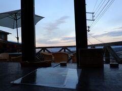 夕日に染まる奈良の街。とっても綺麗。