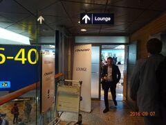 ヘルシンキで2時間近く待ち時間が有りましたので、フィンエアーのラウンジにも入って休憩しました。