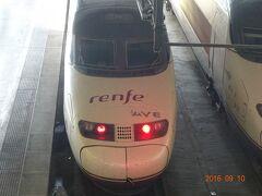 スペインの高速列車AVE