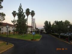宿泊したホテルの景観