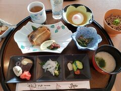 今日はゆっくりです。 美味しい朝食をいただきました。