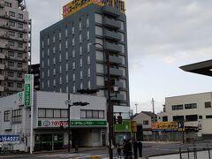 米子に戻り スーパーホテル米子駅前にチェックイン