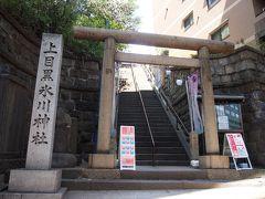 「上目黒氷川神社」(1番近い駅は池尻大橋駅です)へ参拝 4トラでは大橋氷川神社で地図が登録されていますが、大橋氷川神社とも称されるので間違いじゃありません