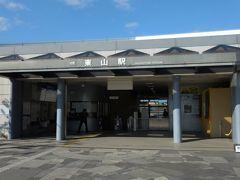 スタートは近鉄生駒線の東山駅。ここで平群町のコミュニティバスに乗車しました。