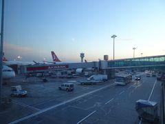 当初翌日のフライト予定でしたがトルコ、アタチュルク国際空港が新空港に移転の為1日前倒しのフライトとなり、奇しくも今日がこの空港の最後の日となった。