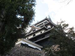 松江城に到着!