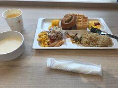 コンフォートホテルは無料で朝食がつきます。 ピラフをおすすめしていました。
