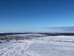 5ユーロでサーリセルカからいけるスキー場に行くバスにのり、景色を堪能。  スキーはしてません。