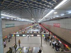 中正紀念堂駅の解放感が好きです。