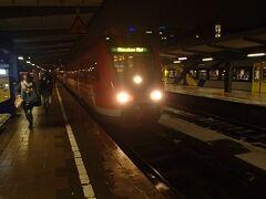 鉄道でミュンヘンに戻ってきました。