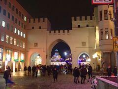 カールス広場のカールス門