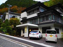 PM3:30  梅ヶ島温泉 おもいでの宿「湯の島館」到着!  参照 湯の島館公式HP http://www.yunoshimakan.com/