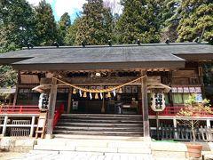 二日目は  おばさんのオススメ有明山神社からスタート