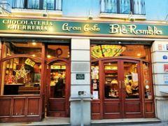 1/2はGran Cafe at Bib Ramblaから。 有名チュロス店があるのだけど、間違えてこっちに来てしまいました。 お店のおじさんが愛想良くて楽しい朝食だったので、 こっちに来て正解でした。