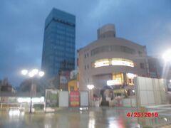 早朝の 松戸駅東口。