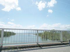 そして食事後、琵琶湖の北部に来ると琵琶湖の水面に加えて、