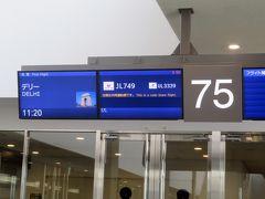 先ずは成田からデリーへ移動します。  機材はJL749、スリランカ航空との共同運航便です。オヤジ、ネットで購入しました(約9万円)。オヤジにしては少し贅沢ですが、直行便と言うところが魅力です。