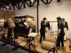 倉庫の一角にある「庄内米歴史博物館」に入りました。 昔っぽい展示が懐かしい感じです。
