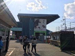 次のわくわくスポット、帯広競馬場です! 北海道に生まれ育って四十数年、初めてばんえい競馬を見ます! イベントを開催しているようで、大盛況です!