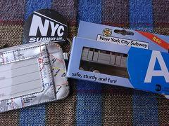 地下鉄博物館のギフトショップで買ったお土産。模型はもちろんA列車。