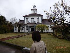 致道博物館は旧西田川郡役所、旧鶴岡警察署庁舎など8つの建物などが1ヶ所にまとまっているミニミニテーマパークのような施設です。 800円(JAF割引で700円)を受付で払って入場しました。