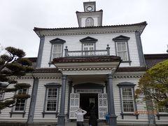 明治14年に創建された旧西田川郡役所。 明治天皇御巡幸時には行在所(あんざいしょ)となりました。 重文指定の建造物です。
