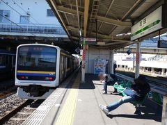 成田まで乗ったら成田線に乗り換えて
