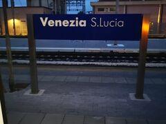 Venezia駅到着 20:40