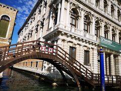 Ca'Rezzonicoと桟橋