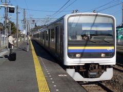 一の鳥居が見られたので、香取駅から再び電車に乗ります。