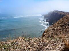か、風が冷たい! 霧多布岬まで行くのはやめよう。