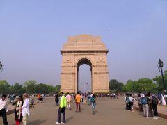 インド門と官庁街