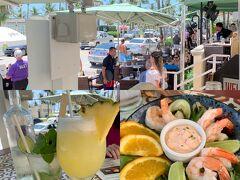 今朝のSouth Beach周辺ランは約11.8kmで終了。 とにかく暑かった。気温は30度そこそこだろうが、湿度は高めで蒸し暑く、滝汗が止まらなかった。 投宿先に戻り、朝風呂(シャワー)を浴びてからの昼販。  投宿先から2軒隣り、日本ではなかなかお目にかかれないCuban料理の店。 Havana 1957 @ Ocean Drive