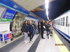 まず最初に降りたのは、朝食を買う予定で立ち寄ったSol駅。 駅構内もキレイ!