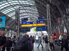 入国後、Sバーンに乗ってフランクフルト中央駅に到着です。 やっと来たー。 久しぶりな感じだけどやっぱり欧州の駅の雰囲気はいいですね。