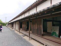 萩城跡の入場料には、すぐ近くのこちらの旧厚狭毛利家萩屋敷長屋もセットで入っています。