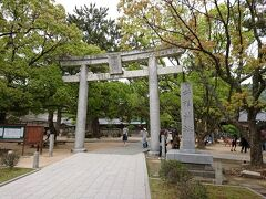 次に向かったのが松陰神社。 萩に来たら、ここは外せません。