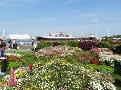 山下公園 ガーデンネックレス横浜 2019  赤い靴花壇に植えられた花 先日楽しんだ花壇展も続いていました。 https://4travel.jp/travelogue/11482383