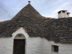 この形の住居を、トゥルッリと言います。 小さくて、可愛い形をした、おうちです。