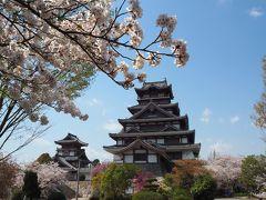 お城と桜~♪写真撮るのにも最高だな☆