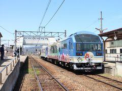 そして会津若松から1時間半ほどで終着の会津田島駅に到着。 少し駅周囲の散策をしたいところですが待ち時間は20分ほどしかありません。 トイレを済ませる程度に留めます。